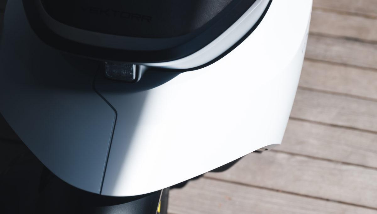 Husqvarna e-mobility VEKTORR e-scooter concept tail detail