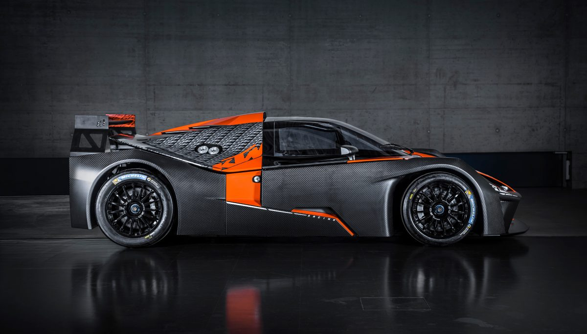 Side view of KTM X-BOW GT4