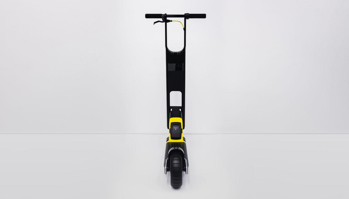 Husqvarna e-mobility BLTZ e-scooter concept rear view