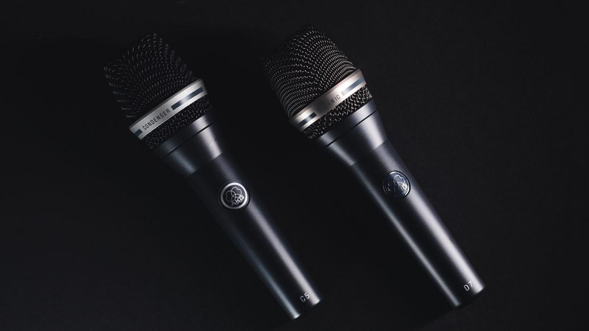 AKG microphones designed by KISKA