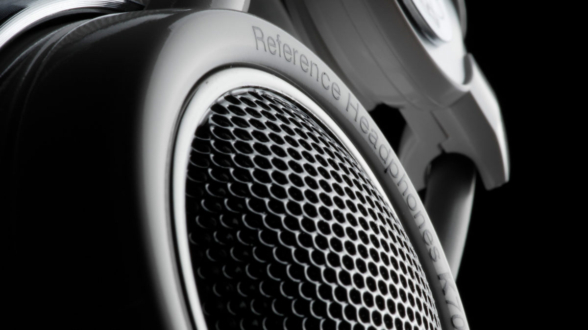 AKG headphone detail