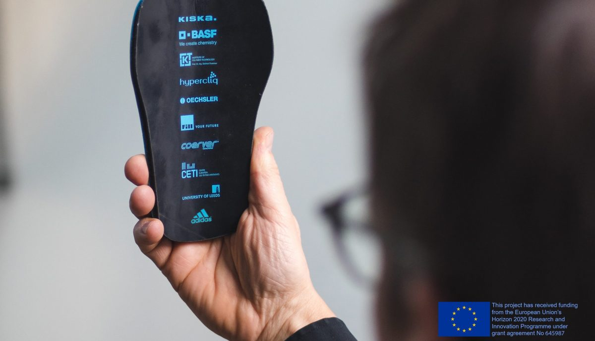 Members of adidas Sport Infinity, a European Union Horizon 2020 research consortium