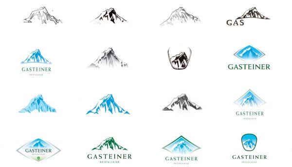 Gasteiner brand logo development