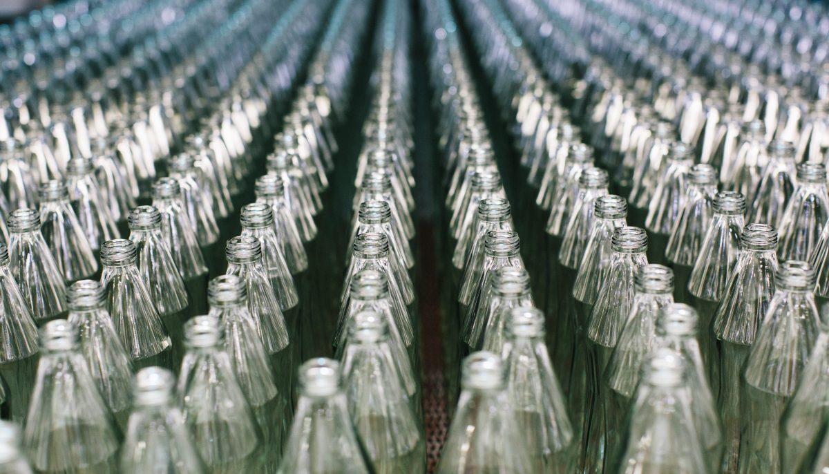 Gasteiner glass bottle manufacturing