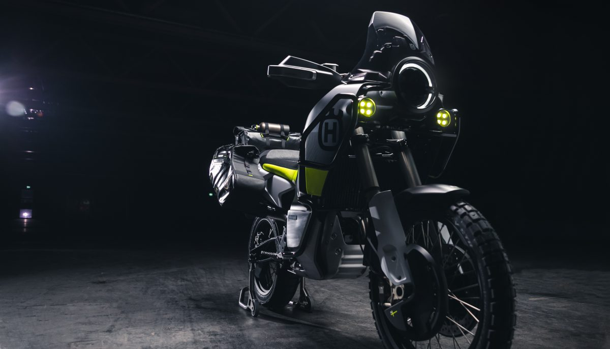 Husqvarna Motorcycles Norden 901 three quarter front view