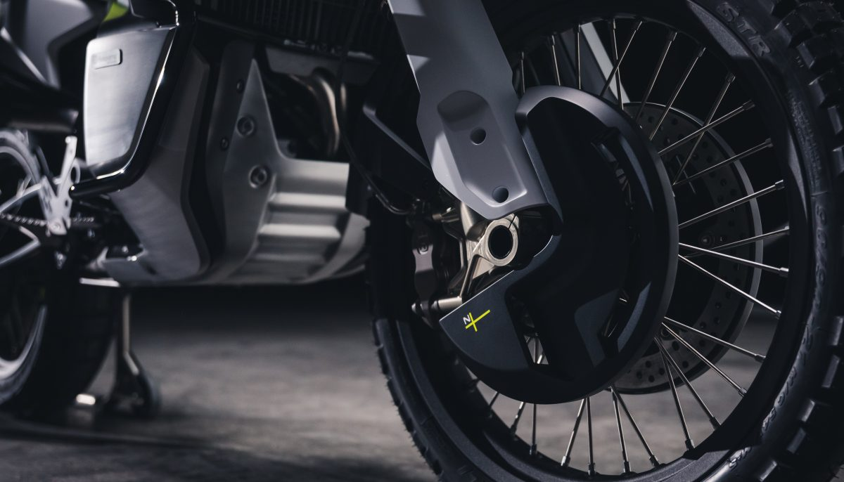 Husqvarna Motorcycles Norden 901 wheel, brakes and product graphic