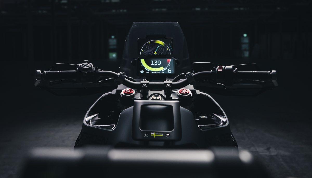 Husqvarna Motorcycles Norden 901 dashboard