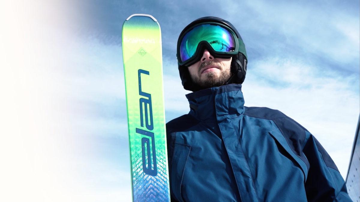 Thumbnail image for Elan Ace ski video.